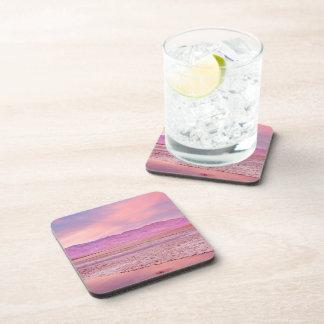 Salt Water Lake Death Valley Drink Coaster