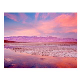 Salt Water Lake Death Valley Postcard
