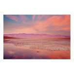 Salt Water Lake Death Valley Wood Wall Decor