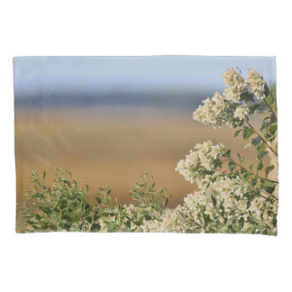 Saltbush flowers pillowcase