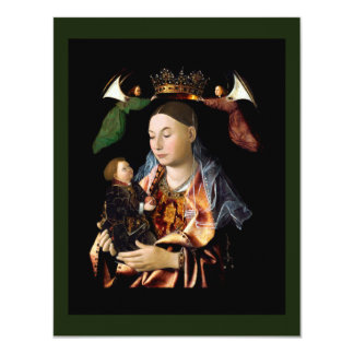 Salting Madonna and Christ Child Card