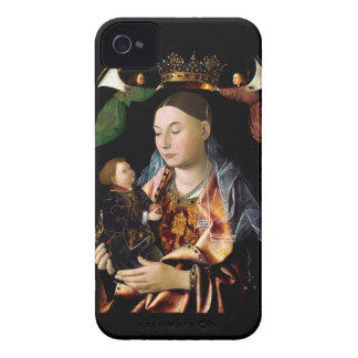 Salting Madonna and Christ Child iPhone 4 Covers