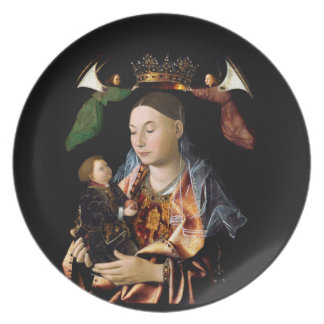 Salting Madonna and Christ Child Plate