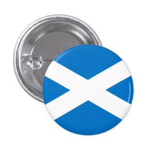 Saltire Badge 1 Inch Round Button