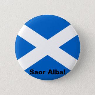 Saltire Button