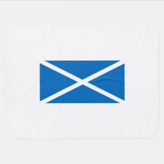 Saltire flag of Scotland Baby Blanket
