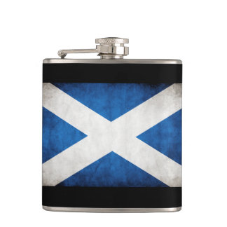 Saltire - Scottish Flag Hip Flask