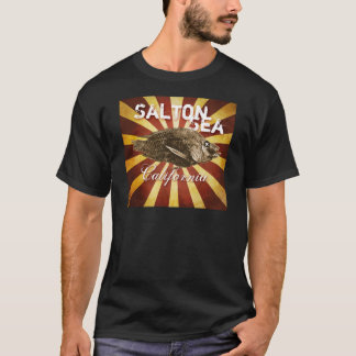 Salton Sea, California Starburst Fish : DARK T-Shirt