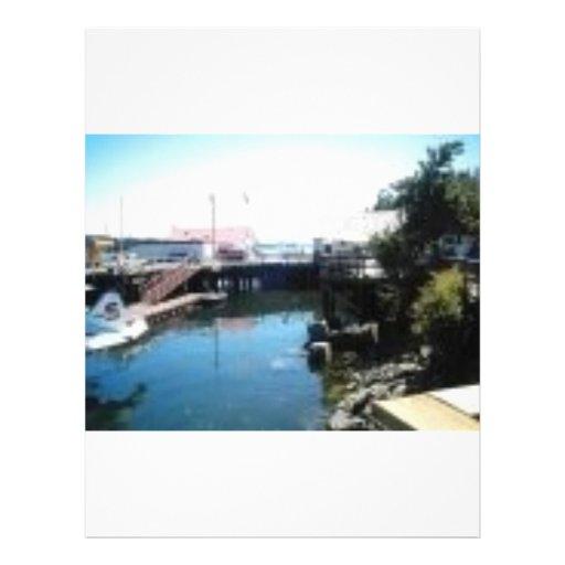 saltspring dock personalized letterhead