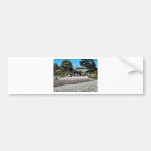 SALTSPRING ISLAND BEACHFRONT STORE BUMPER STICKERS