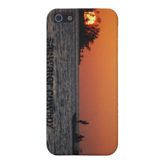 Saltwater Cowboy iPhone 5 Case