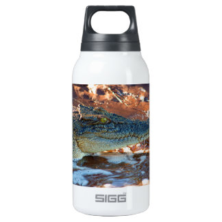 Saltwater Crocodile Insulated Water Bottle