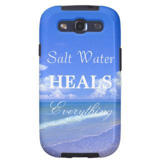 Saltwater Heals Everything Galaxy SIII Cases
