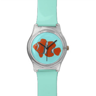 saltwater tropical clown fish watches