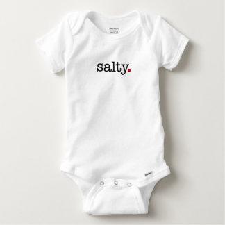 salty baby onesie