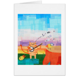 Salty Dog Card