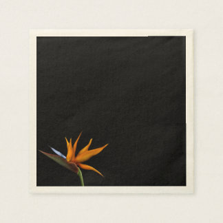 Salty Kisses Tropical Decor Bird of Paradise Paper Napkin