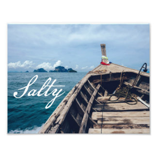 Salty Seas Photo Print