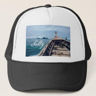 salty seas trucker hat
