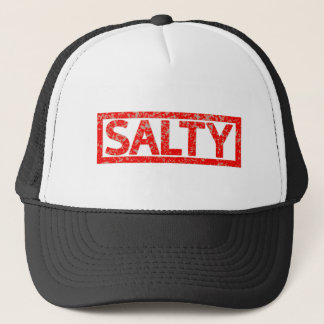 Salty Stamp Trucker Hat
