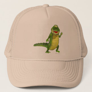 Salty the Crocodile Trucker Hat