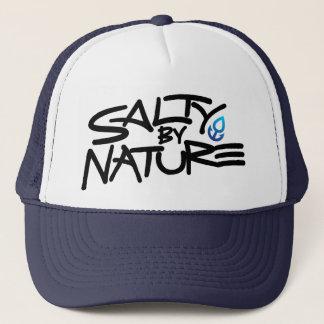 Salty Trucker Hat: Blue Trucker Hat