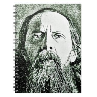 Saltykov Shchedrin Spiral Notebook