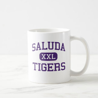 Saluda - Tigers - High - Saluda South Carolina Coffee Mug