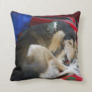 saluki-1.jpg throw pillow