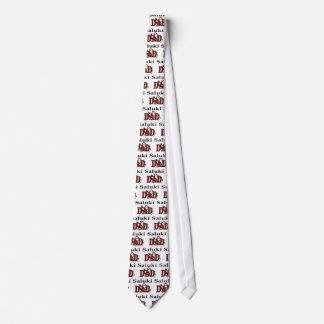 Saluki Dad Gifts Tie