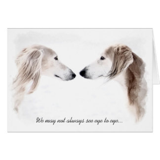 Saluki Greeting Cards