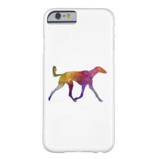 Saluki in watercolor barely there iPhone 6 case
