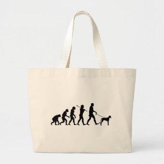 Saluki Jumbo Tote Bag