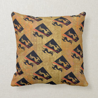 Salukis cushion stylized