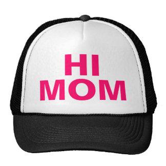 salut chapeau de maman casquette de camionneur