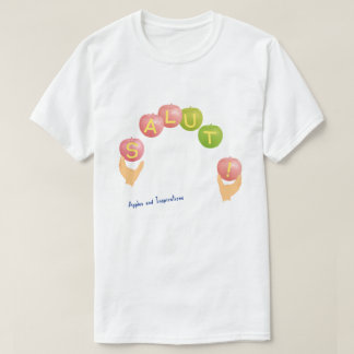SALUT! type-4 white (for bright background color) T-Shirt