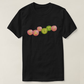 SALUT! type-6 black (there is no rear design) T-Shirt