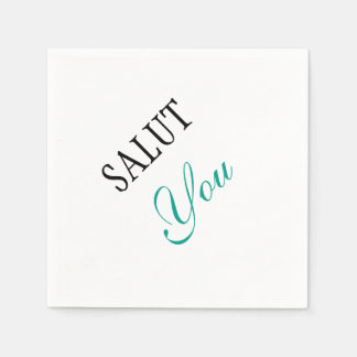 Salut You Napkins Disposable Napkins