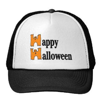 Salutation heureuse de Halloween Casquette De Camionneur