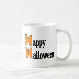 Salutation heureuse de Halloween Mug À Café