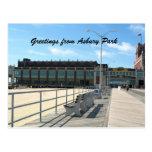 Salutations de parc d'Asbury Cartes Postales