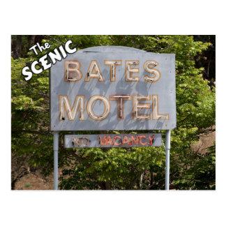 Salutations du motel pittoresque de confits cartes postales