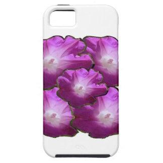 Salutations roses blanches de cadeau de bouquet de coques Case-Mate iPhone 5