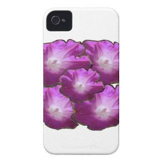 Salutations roses blanches de cadeau de bouquet de coques iPhone 4