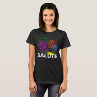 Salute Fireworks customizable T-Shirt