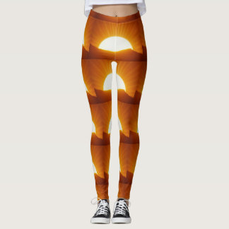 Salute the Sun Deluxe Leggings