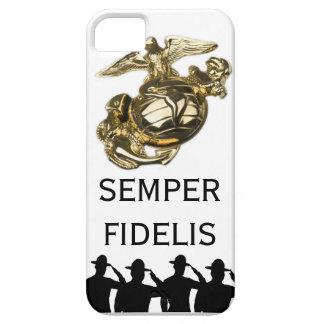 Saluting Sergeants - Semper Fidelis iPhone 5 Case