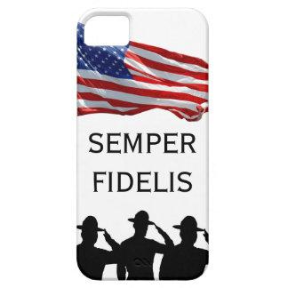 Saluting Sergeants - Semper Fidelis iPhone 5 Covers
