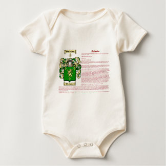 Salvador (meaning) baby bodysuit