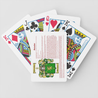 Salvador (meaning) bicycle playing cards
